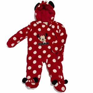 Disney Baby Minnie Mouse Snow Suit NWT